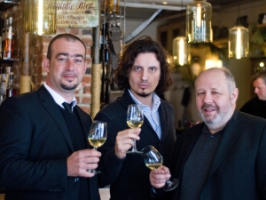 Alen Bibic, Miha Batic, Peter Bernreiter