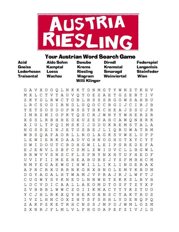 Austrian Word Search Game copy